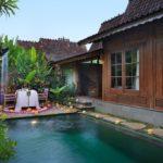Pramana Watu Kurung Resort Tek Yatak Odalı Ahşap Villa - Özel Havuzlu