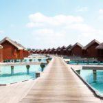 Anantara Dhigu Maldives Resort Su Üstünde Sunset Süit
