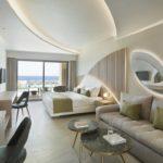 Mayia Exclusive Resort & Spa Junior Süit - Ortak Havuzlu ve Deniz Manzaralı