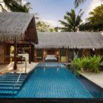 Shangri-La's Villingili Resort and Spa Tek Yatak Odalı Beach Villa - Özel Havuzlu + Doğrudan Plaj Erişimli