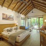 Reethi Faru, Bio Luxury Resort İki Yatak Odalı Deluxe Beach Villa