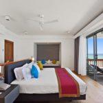 Kuramathi Maldives İki Yatak Odalı Sahil Evi