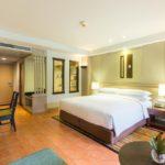 Phuket Marriott Resort & Spa, Merlin Beach Premier King veya Çift Kişilik Konuk Odası - Havuz Manzaralı